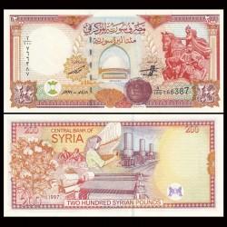 SYRIE - BILLET de 200 Livres Syriennes - 1998 P109a