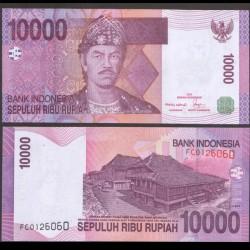 INDONESIE - Billet de 10000 Rupiah - 2005 / 2007 P143c