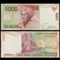 INDONESIE - Billet de 5000 Rupiah - 2011 P142k