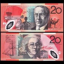 AUSTRALIE - Billet de 20 DOLLARS - Polymer - 2008