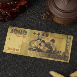 TAIWAN - Billet de 1000 Yuan - Doré - 2010