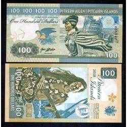 PITCAIRN - Billet de 100 Dollars - Bateau Bounty - Vahiné - 2018 0100 - Gabris