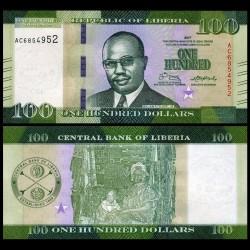 LIBERIA - Billet de 100 DOLLARS - 2017 P35b