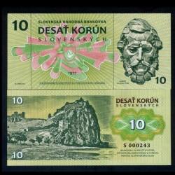 SLOVAQUIE - Billet de 10 KORUN - 1977 / 2017