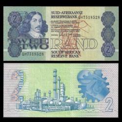 AFRIQUE DU SUD - Billet de 2 Rand - Jan van Riebeeck - 1983 / 1990