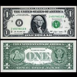 ETATS UNIS / USA - Billet de 1 DOLLAR - 2009 - I(9) Minneapolis P530aI