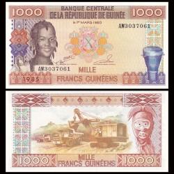 GUINEE - Billet de 1000 Francs - 1985