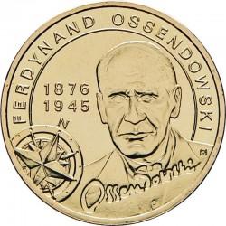 POLOGNE - PIECE de 2 ZLOTE - Ferdynand Ossendowski - 2011 Y#797