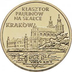 POLOGNE - PIECE de 2 ZLOTE - Couvent de Saint Paul à Cracovie - 2011