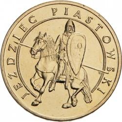 POLOGNE - PIECE de 2 ZLOTE - Histoire de la Cavalerie Polonaise - Rois cavaliers polonais - 2006