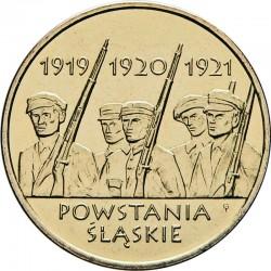 POLOGNE - PIECE de 2 ZLOTE - Insurrection de la Silésie - 2011