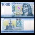 HONGRIE - Billet de 1000 Forint - Roi Matthias - 2017