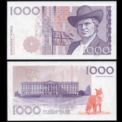 NORVEGE - Billet de 1000 Takk - Bjørnstjerne Bjørnson - 2016