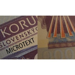 TCHECOSLOVAQUIE - Billet de 1000 Korun - Skoda 1000 MBX - 2016