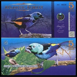 ATLANTIC FOREST - 5 AVES - 2015