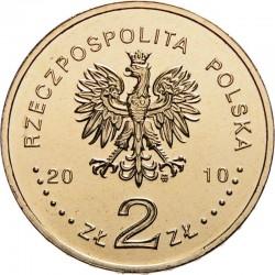 POLOGNE - PIECE de 2 ZLOTE - Varsovie sur la liste de l'UNESCO - 2010