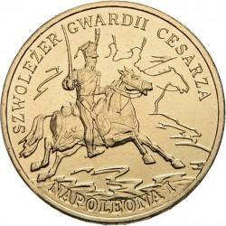 POLOGNE - PIECE de 2 ZLOTE - Histoire de la Cavalerie Polonaise : Chevaux Légers de la Garde Impériale - 2010