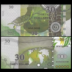 GILBERT ISLANDS / KIRIBATI- Billet de 30 Dollars - Série Tortue: Deirochelys - 2016