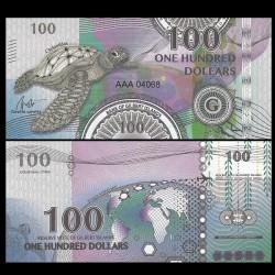 GILBERT ISLANDS / KIRIBATI- Billet de 100 Dollars - Série Tortue: Caouanne - 2016