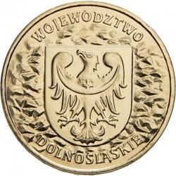 POLOGNE - PIECE de 2 ZLOTE - Voïvodie de Basse-Silésie - 2004 Y#484