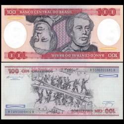 BRESIL - Billet de 100 Cruzeiros - 1984