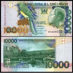 SAO TOMÉ-ET-PRINCIPE - Billet de 10000 Dobras - 22.10.1996