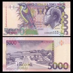 SAO TOMÉ-ET-PRINCIPE - Billet de 5000 Dobras - 22.10.1996