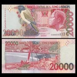 SAO TOMÉ-ET-PRINCIPE - Billet de 20000 Dobras - 22.10.1996