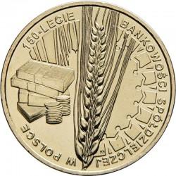 POLOGNE - PIECE de 2 ZLOTE - Banque coopérative - 2012