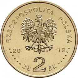 POLOGNE - PIECE de 2 ZLOTE - Coupe d'Europe de football - 2012
