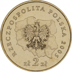 POLOGNE - PIECE de 2 ZLOTE - Voïvodie de Zachodnio Pomorskie - 2005