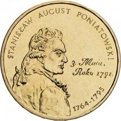 POLOGNE - PIECE de 2 ZLOTE - Rois et princes polonais: Stanisław August Poniatowski - 2005 Y#530