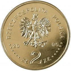 POLOGNE - PIECE de 2 ZLOTE - Rois et princes polonais : Stanisław August Poniatowski - 2005