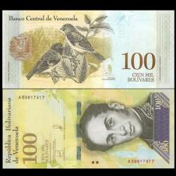 VENEZUELA - Billet de 100000 Bolivares - 13.12.2017