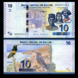 BOLIVIE - Billet de 10 Bolivianos - 2018 P248a