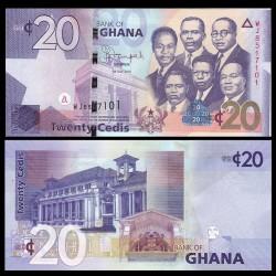 GHANA - Billet de 20 Cedis - 2015