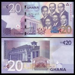 GHANA - Billet de 20 Cedis - 2014