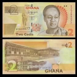 GHANA - Billet de 2 Cedis - 2015