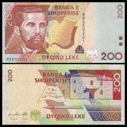 ALBANIE - Billet de 200 Leke - 2012