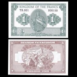 ROYAUME DES FRANCS - Billet de 1 Silver Shilling - Charles Martel - 2016