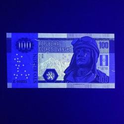 TCHECOSLOVAQUIE - Billet de 100 Korun - Stefanik - 2018