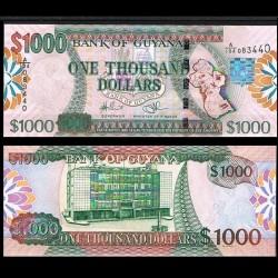 GUYANA - Billet de 1000 DOLLARS - 2009