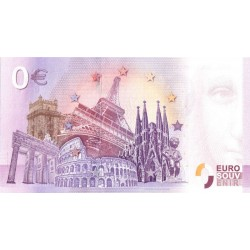 BILLET TOURISTIQUE - ZERO 0 EURO - ESPAGNE - BIOPARC VALENCIA - 2018