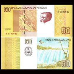 ANGOLA - Billet de 50 Kwanzas - 2012 / 2016