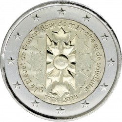 FRANCE - PIÈCE de 2 Euro - Bleuet de France - 2018 Km#New