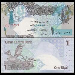 QATAR - Billet de 1 Riyal - 2017 - Oiseaux du Qatar