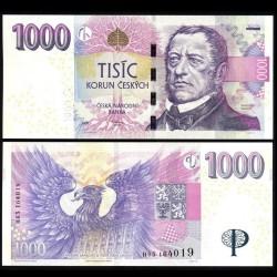 REPUBLIQUE TCHEQUE - Billet de 1000 Korun - 2008 P25a