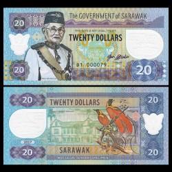 SARAWAK - Billet de 20 DOLLARS - Musée - 2017