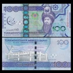TURKMENISTAN - Billet de 100 Manat - 2017