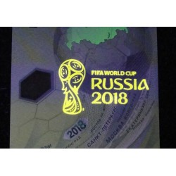 RUSSIE - BILLET de 100 Roubles - Coupe du Monde Football - Polymer - 2018